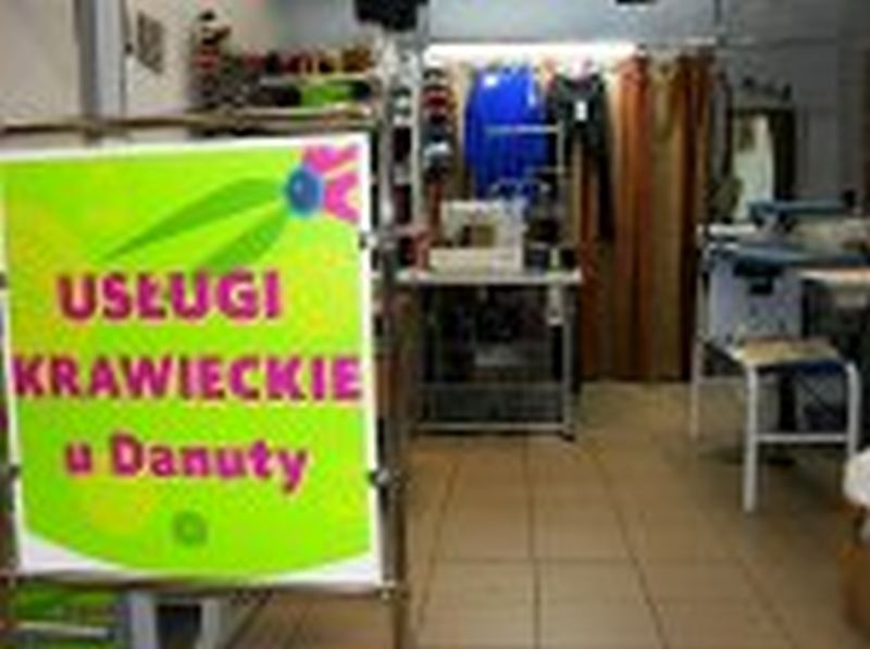 Usługi krawieckie u Danuty
